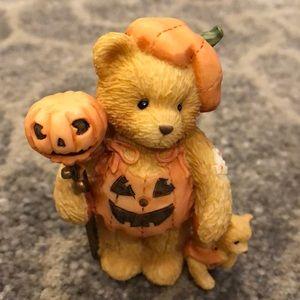 Cherished Teddies Breanna Pumpkin Patch Halloween